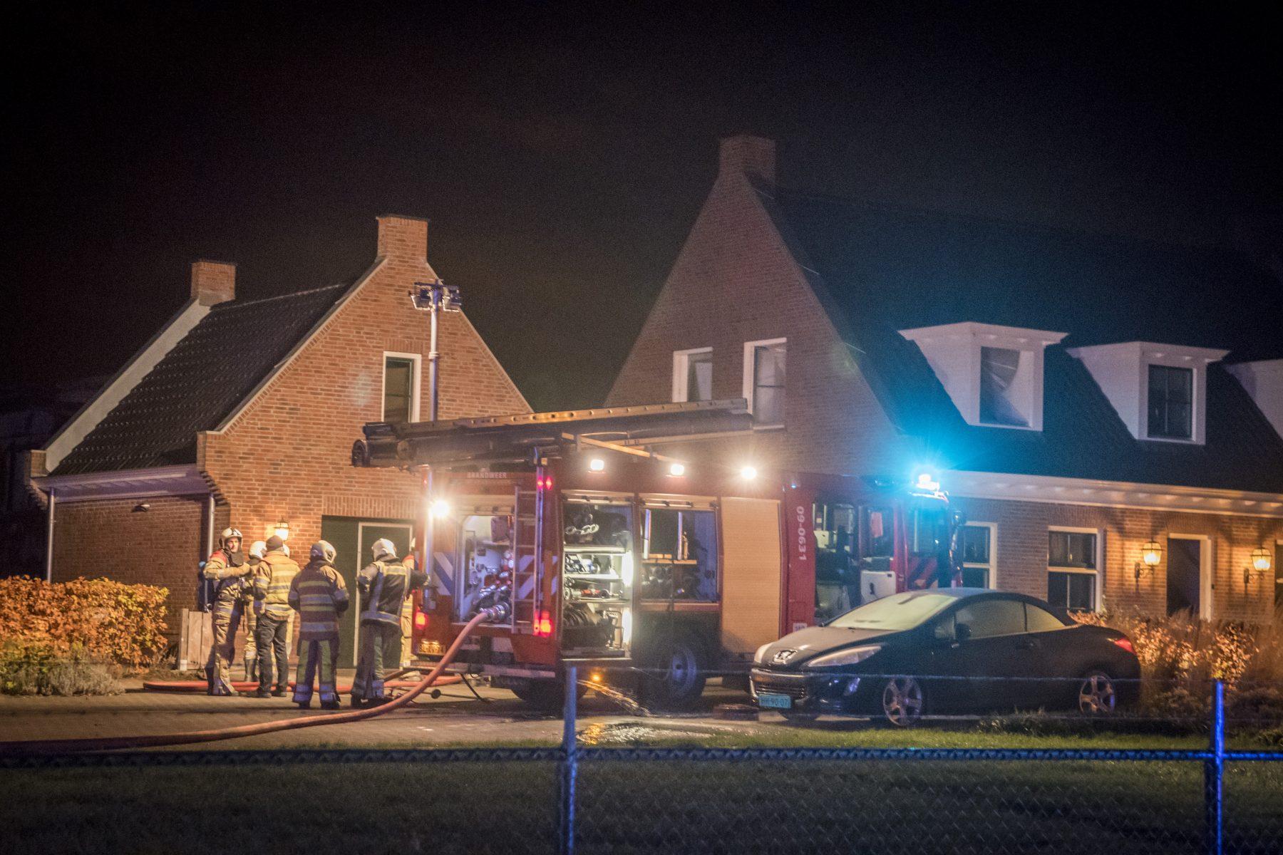 Voor vijfde keer brand bij boer in Werkhoven, nu in woonhuis
