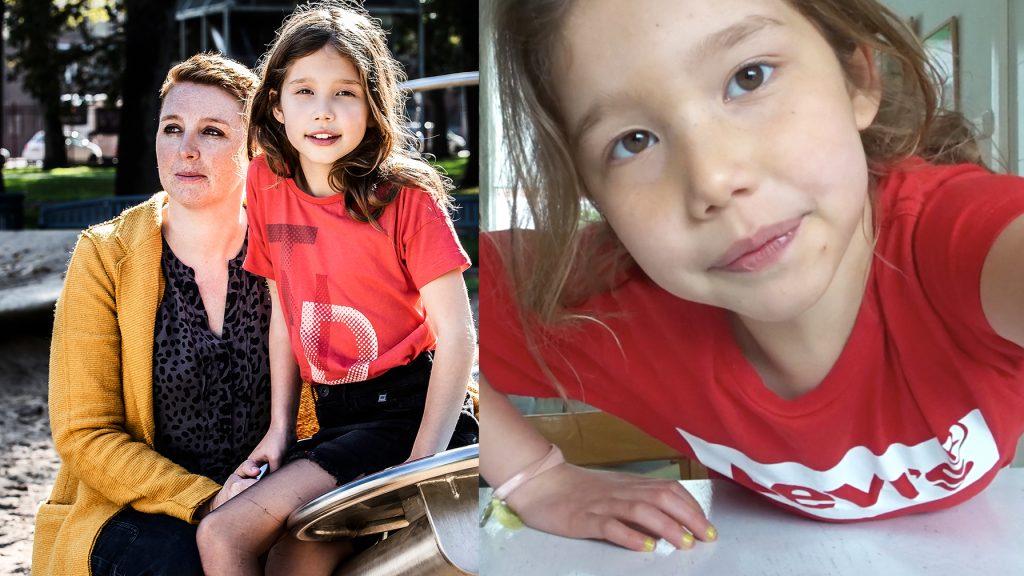 Afl. 7 Liv (7) laat zien wat chemo met haar zieke moeder doet: 'Ze is een beetje chagrijnig'
