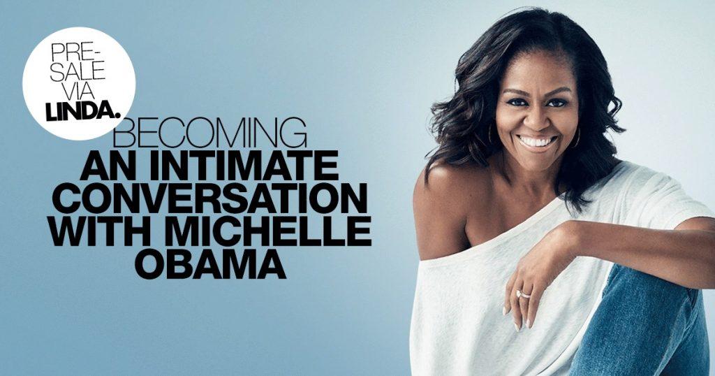 Michelle Obama komt naar Nederland en wij bieden jou (als eerste) dé kans om erbij te zijn