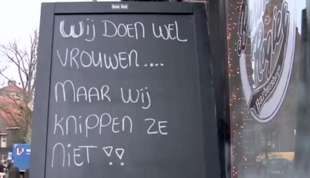Geknipt voor de hoofdprijs: leus van herenkapper uit Laren is slechtste slogan 2018