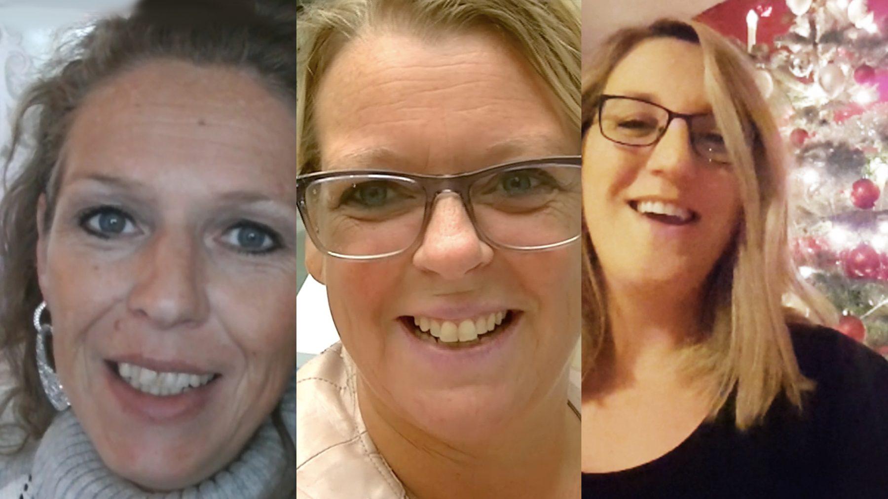 Patty, Marianne en Patricia vertellen hoe het nu, een jaar later, met ze gaat