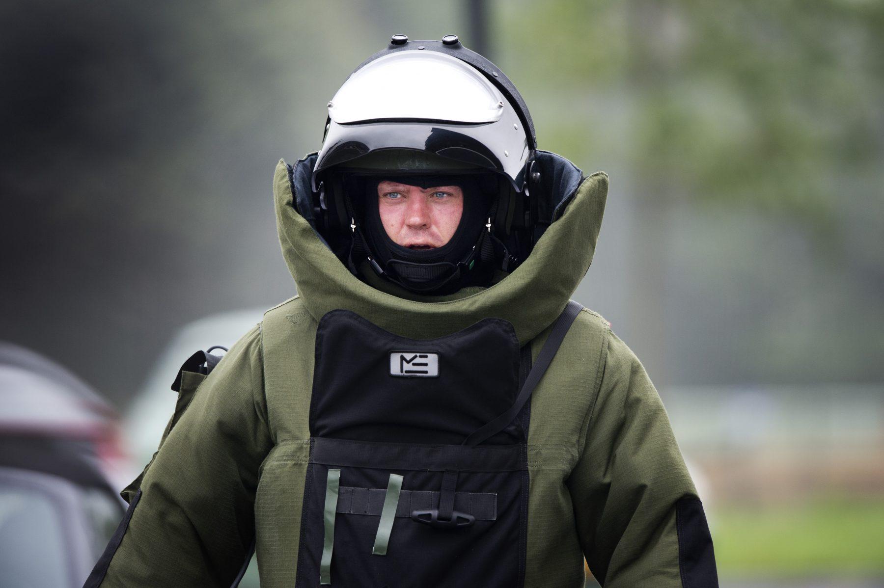 Man ligt twee uur lang op sissende granaat in Venlo