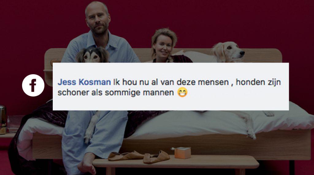 Martijn en Sylvia slapen met hun honden in bed: 12 x dit vinden jullie ervan