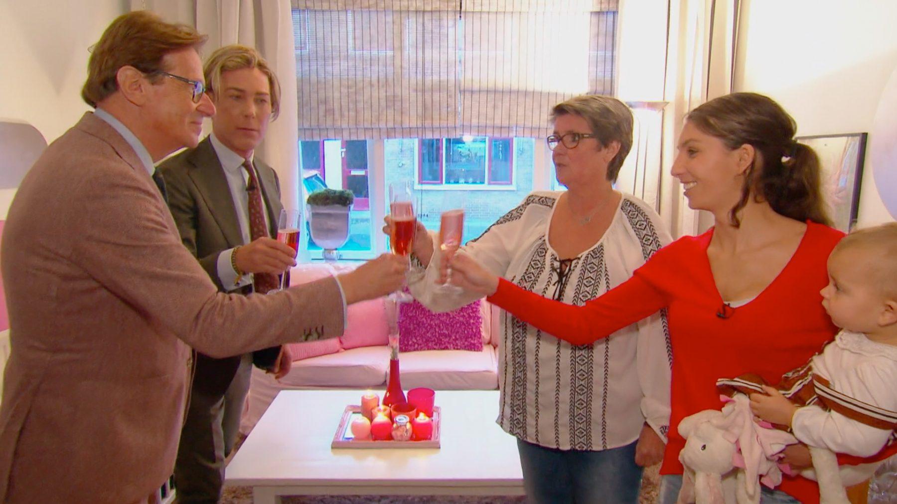 Niet een béétje roze, álles roze: Frank en Rogier creëren Barbiehuis voor een prikkie