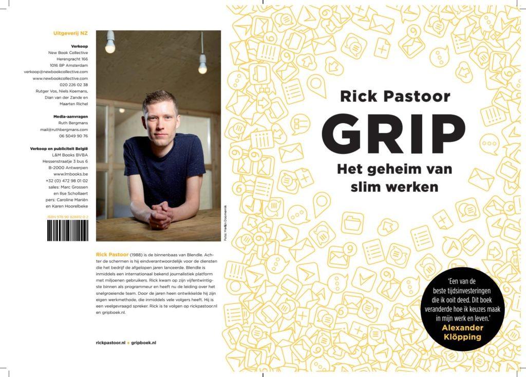 Boekomslag Grip Rick Pastoor