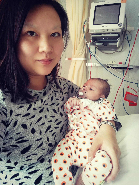 Muriel en Kyana - Muriël werd geadopteerd uit China en heeft nu zelf een dochter
