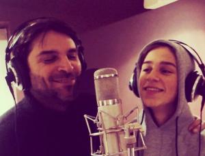 Ontroerend duo: Xander de Buisonjé en zoon Sem (16) delen duet op Instagram