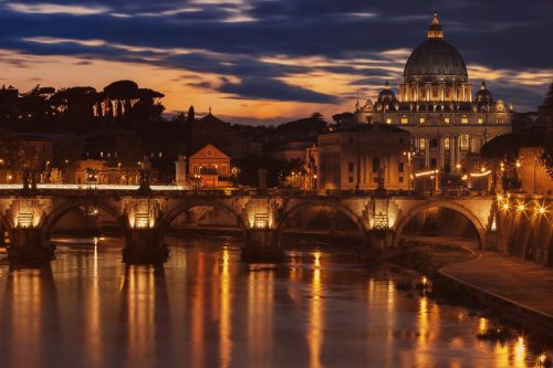 Rome and Vatican view