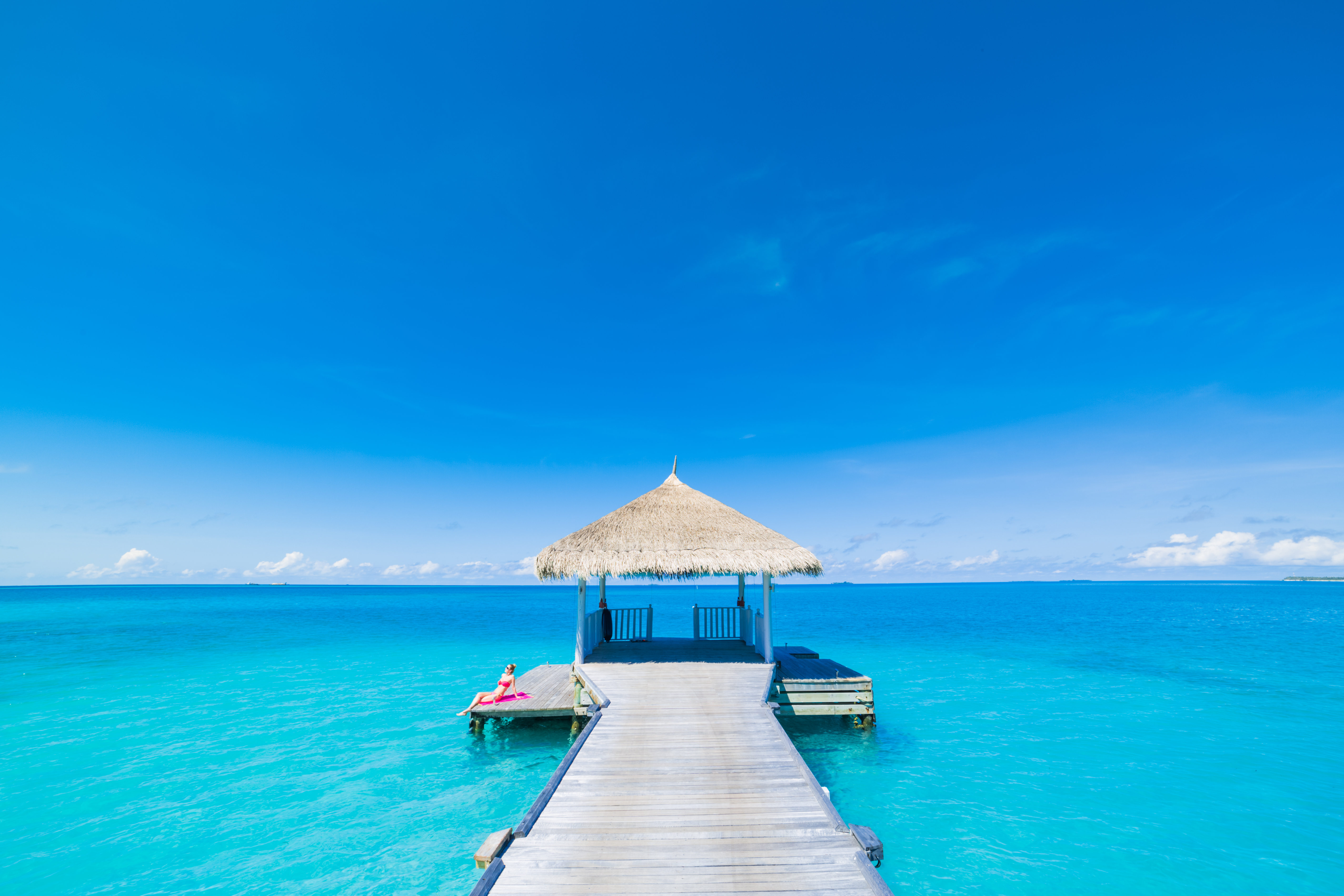 Luxury summer travel holiday vacation concept background.