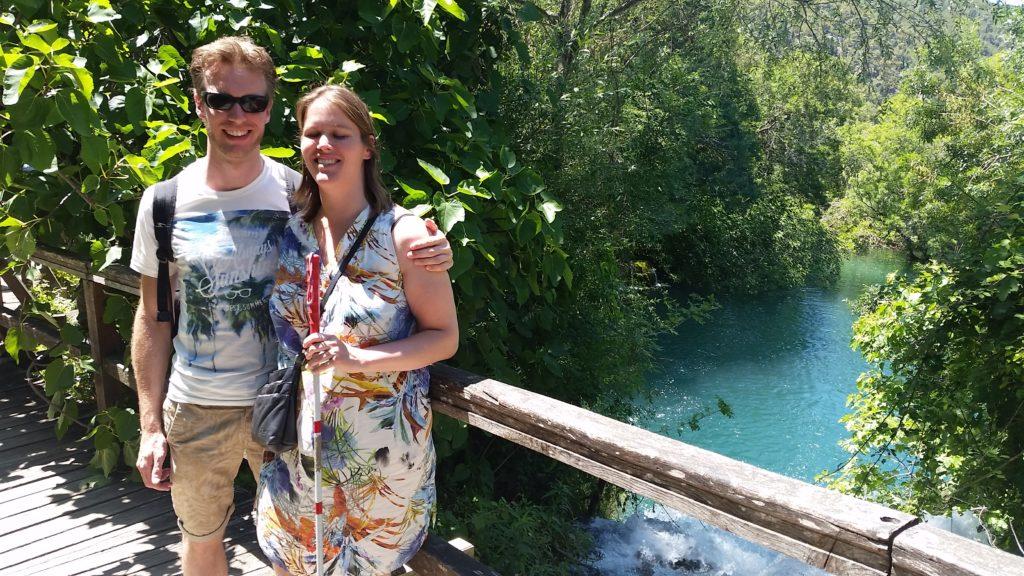 Roxana en Martijn in Kroatië