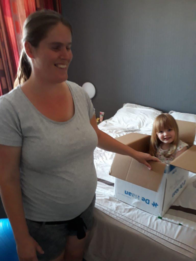 Roxana voor de tweede keer zwanger