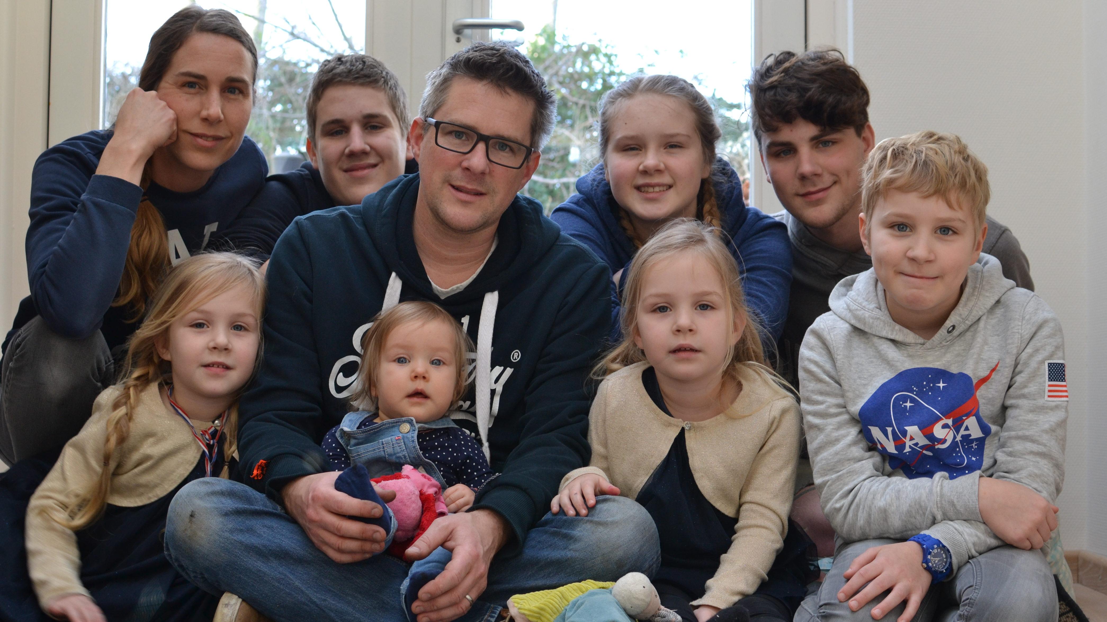 zeven kinderen tweeling