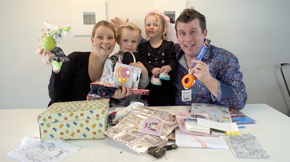 De Bellinga's vlog zwangerschap VEED award