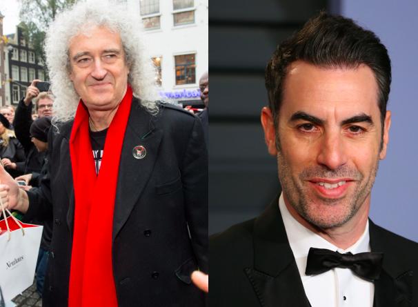 Sacha Baron Cohen en Brian May