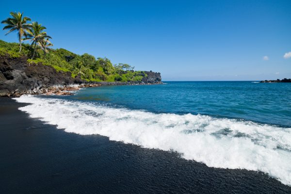 Sterrenbeeld Honokalani Black Beach Wainapanapa Maui Island