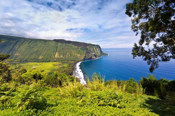 Sterrenbeeld Scenic Waipi'o Valley, Big Island, Hawaii