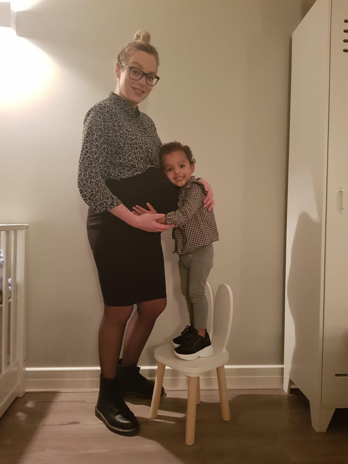 Kelly over haar zwangerschap met een angststoornis