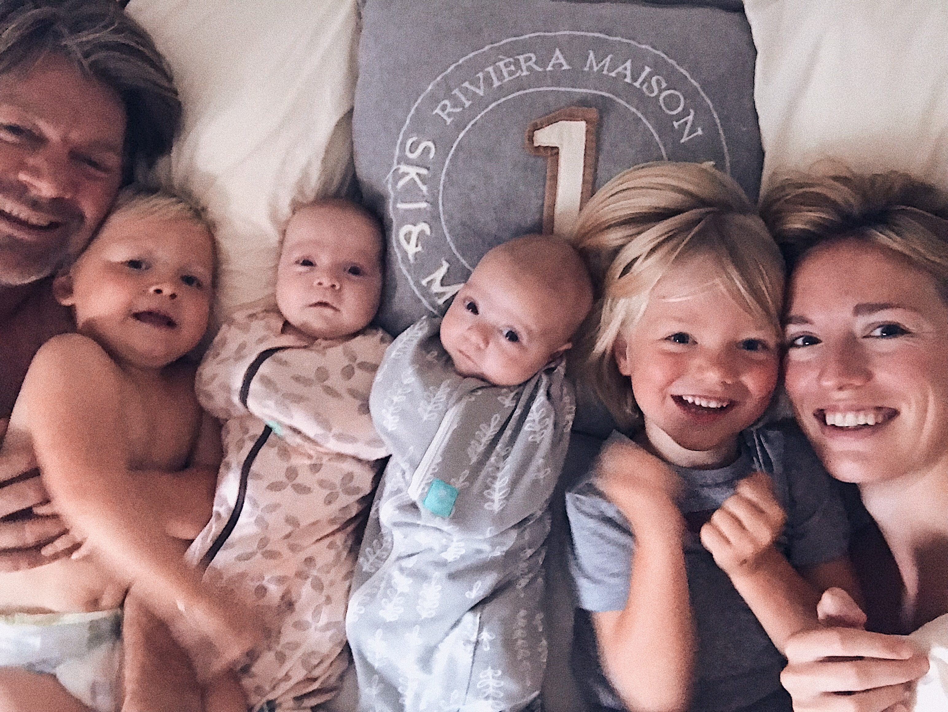 Jasper Magan Stella Penelope Joachim Valentin hele gezin