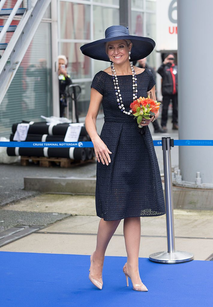 King Willem-Alexander and Queen Maxima Of The Netherlands Attend Diplomatic Gala Dinner