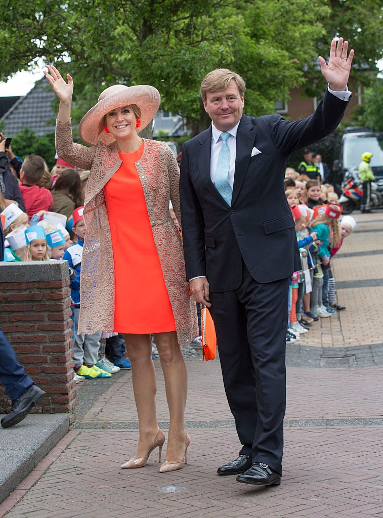 King Willem-Alexander and Queen Maxima Of The Netherlands Tour Friesland Province