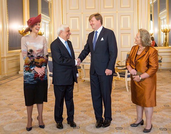 President Prokopis Pavlopoulos of Greece Visits The Netherlands