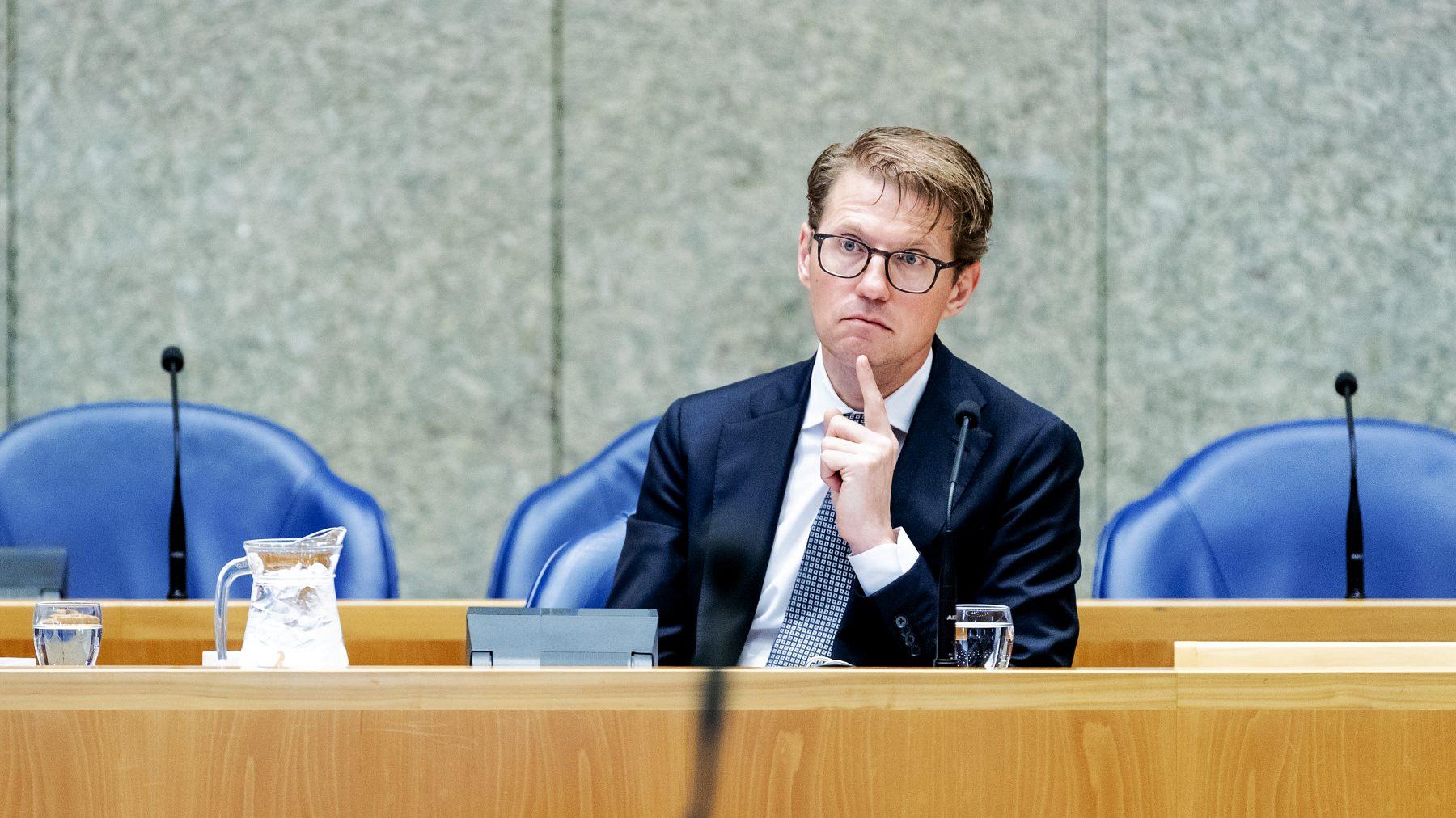Sander Dekker motie van wantrouwen