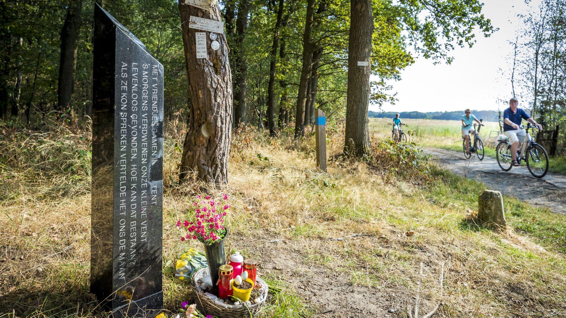 Monument Nicky Verstappen verwoest