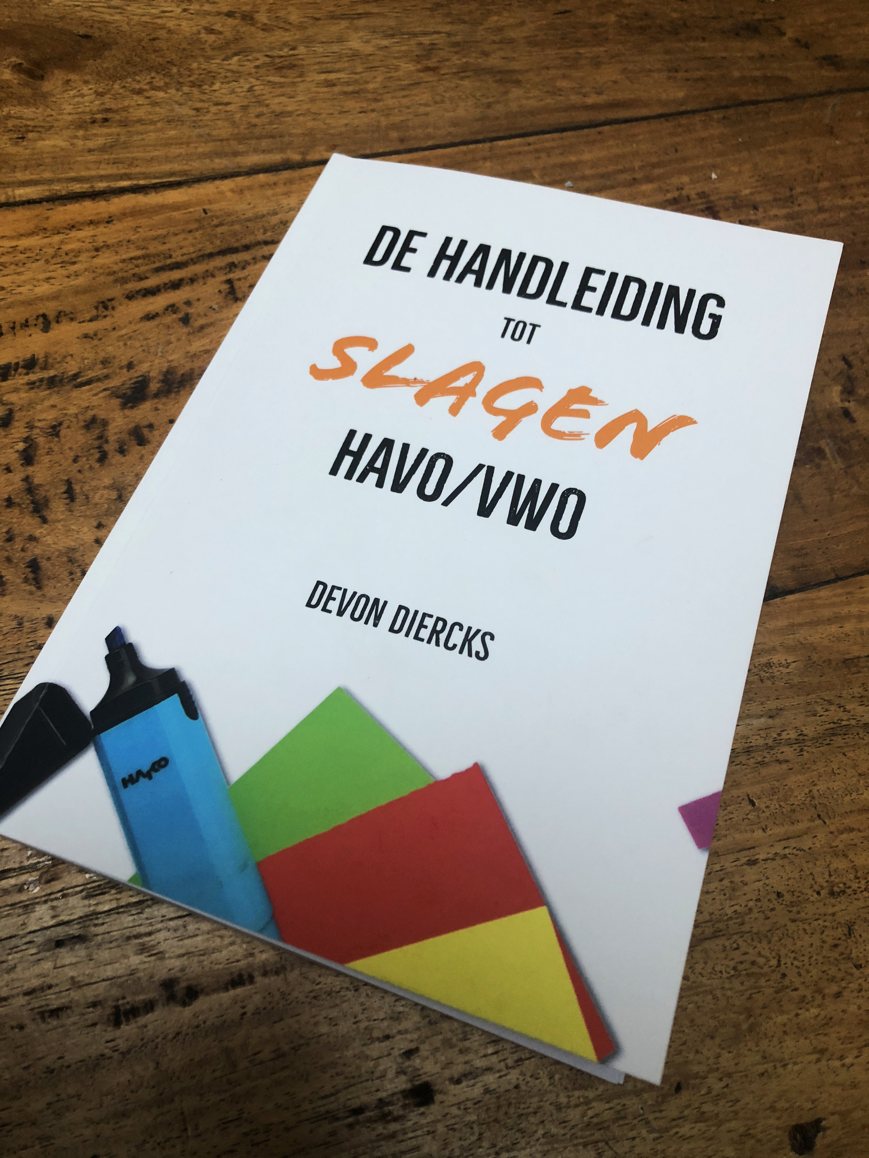 Handboek voor Slagen Havo VWO Devon Diercks