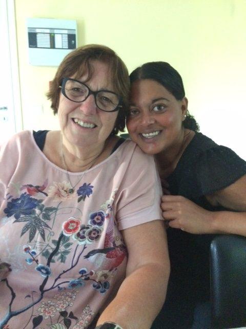 Iris en haar moeder ik lijk steeds meer op jou
