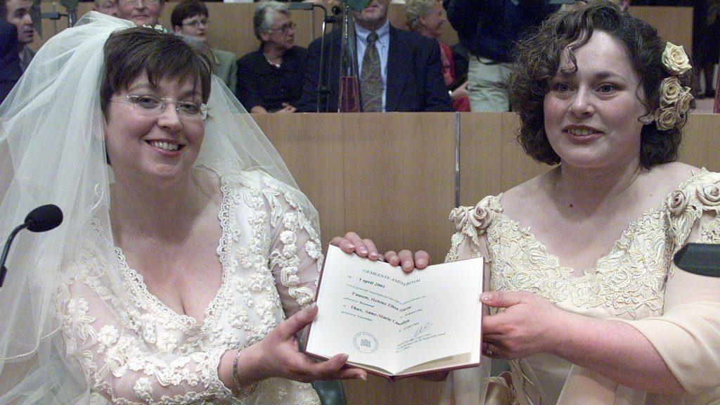 homohuwelijk Helène Anne-Marie