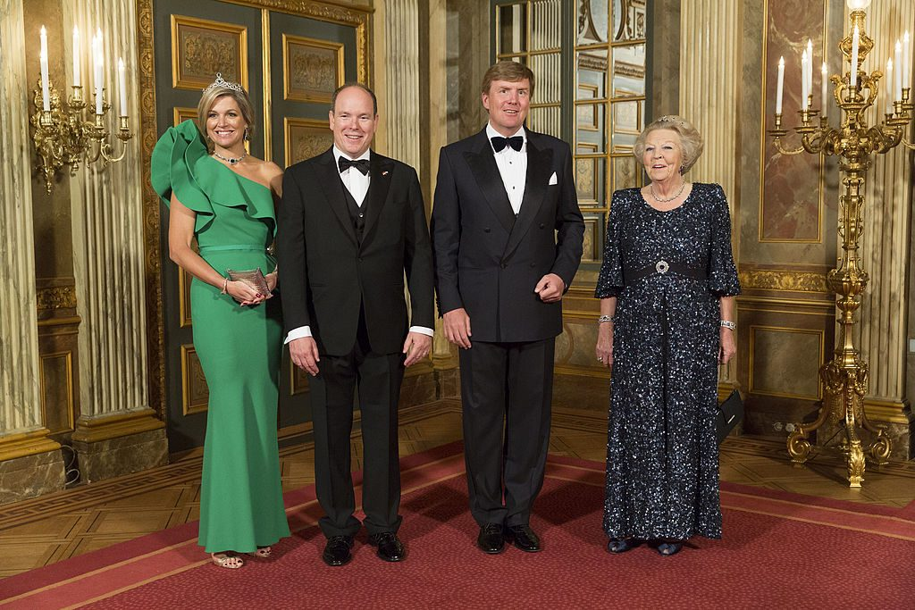 Prince Albert Of Monaco On Official Visit in The Netherlands