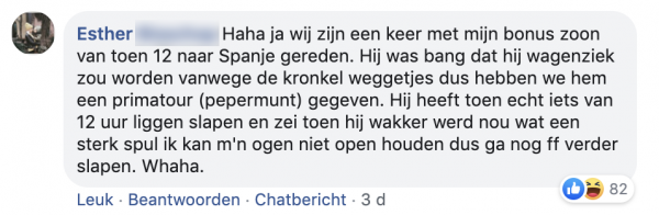 Esthers facebookpost