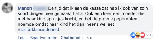 Manons facebookpost