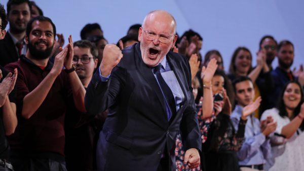 Frans Timmermans populair bij Europese verkiezingen
