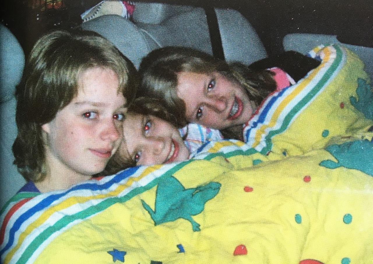 Brechje, Rosanne en Marieke