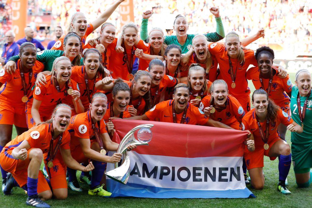 Nederlands vrouwenelftal voetbal wonnen EK