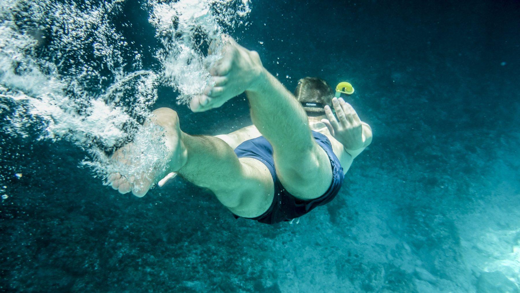 huwelijksaanzoek onder water