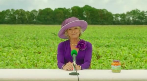 Martine Bijl in HAK-reclame