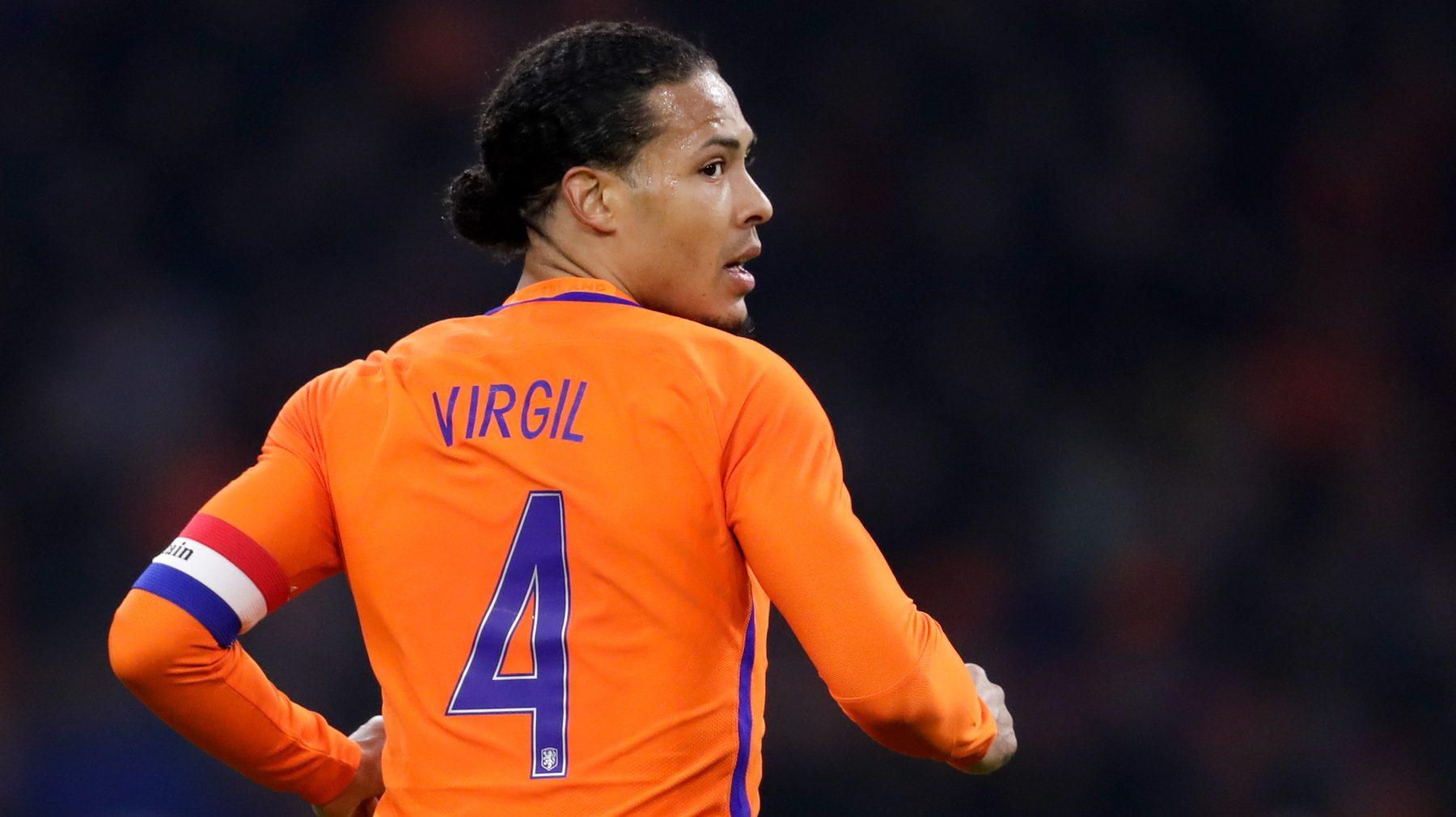 Virgil van Dijk is beste Europese voetballer van het jaar