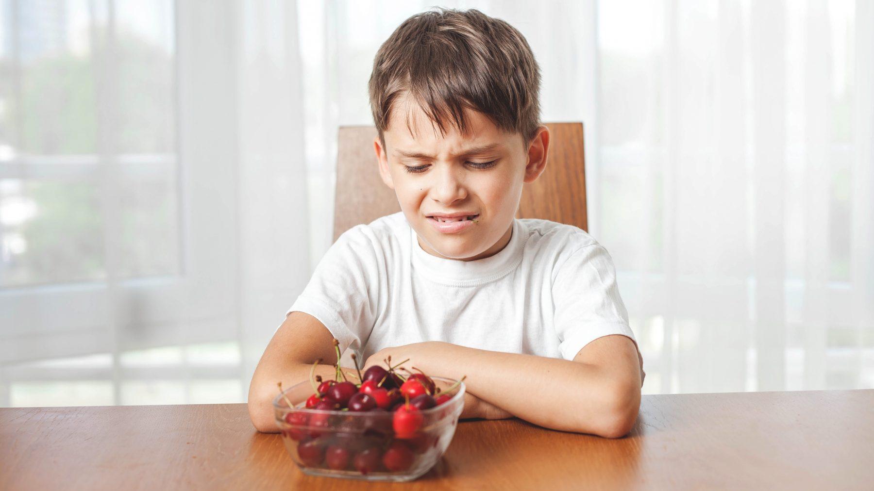 Kinderen lusten geen eten