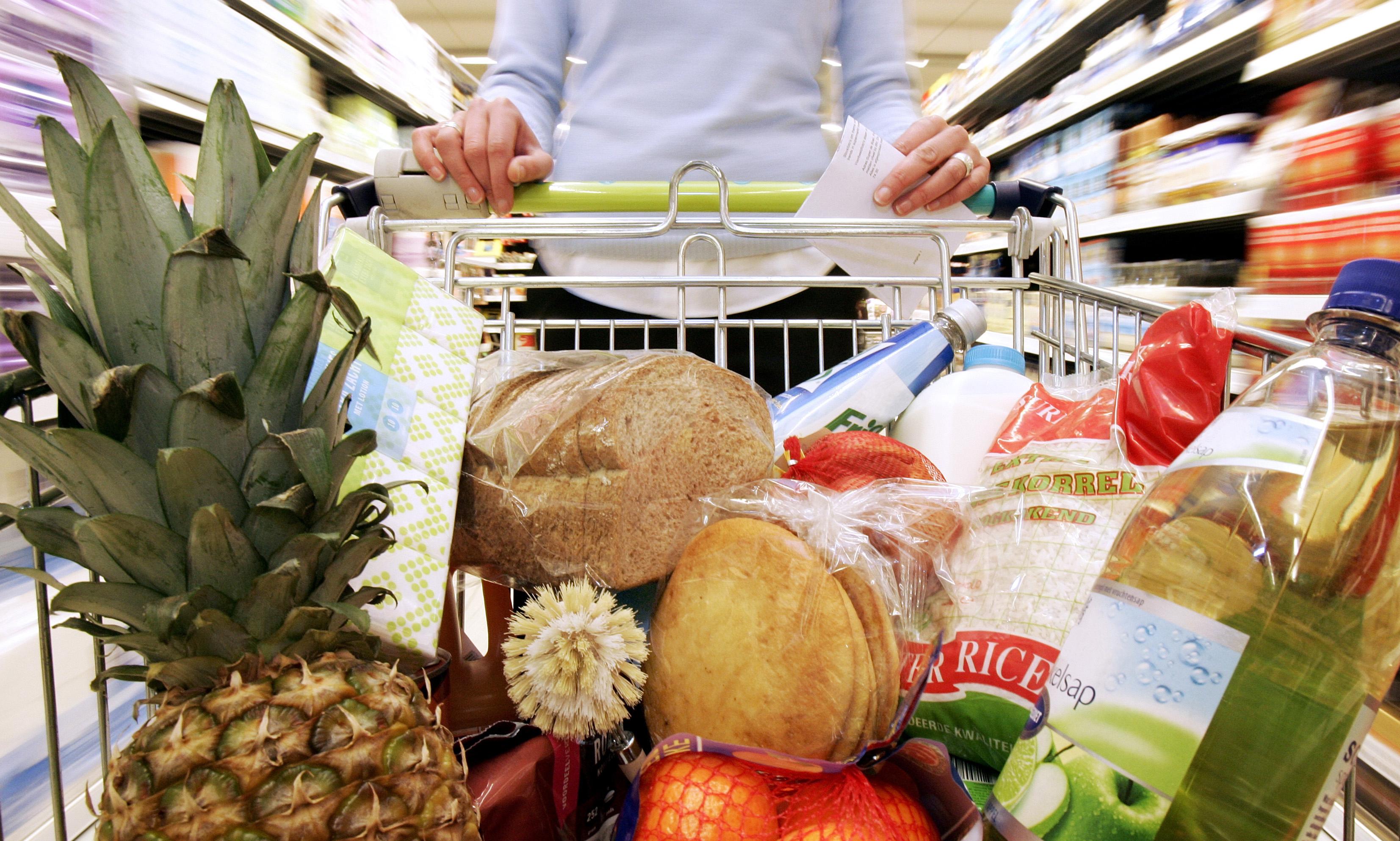 Prijzen van voedsel stijgen