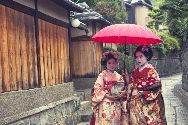 geisha maiko girls