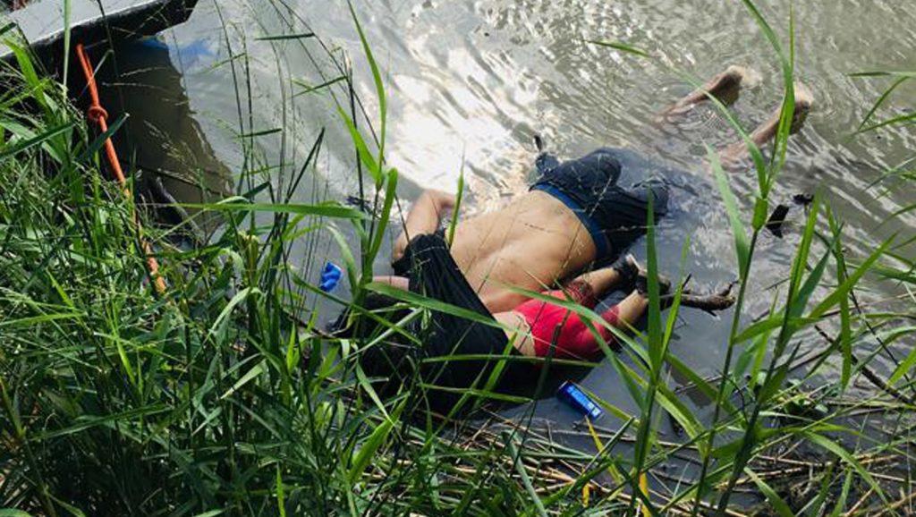 Verdronken vader met dochter