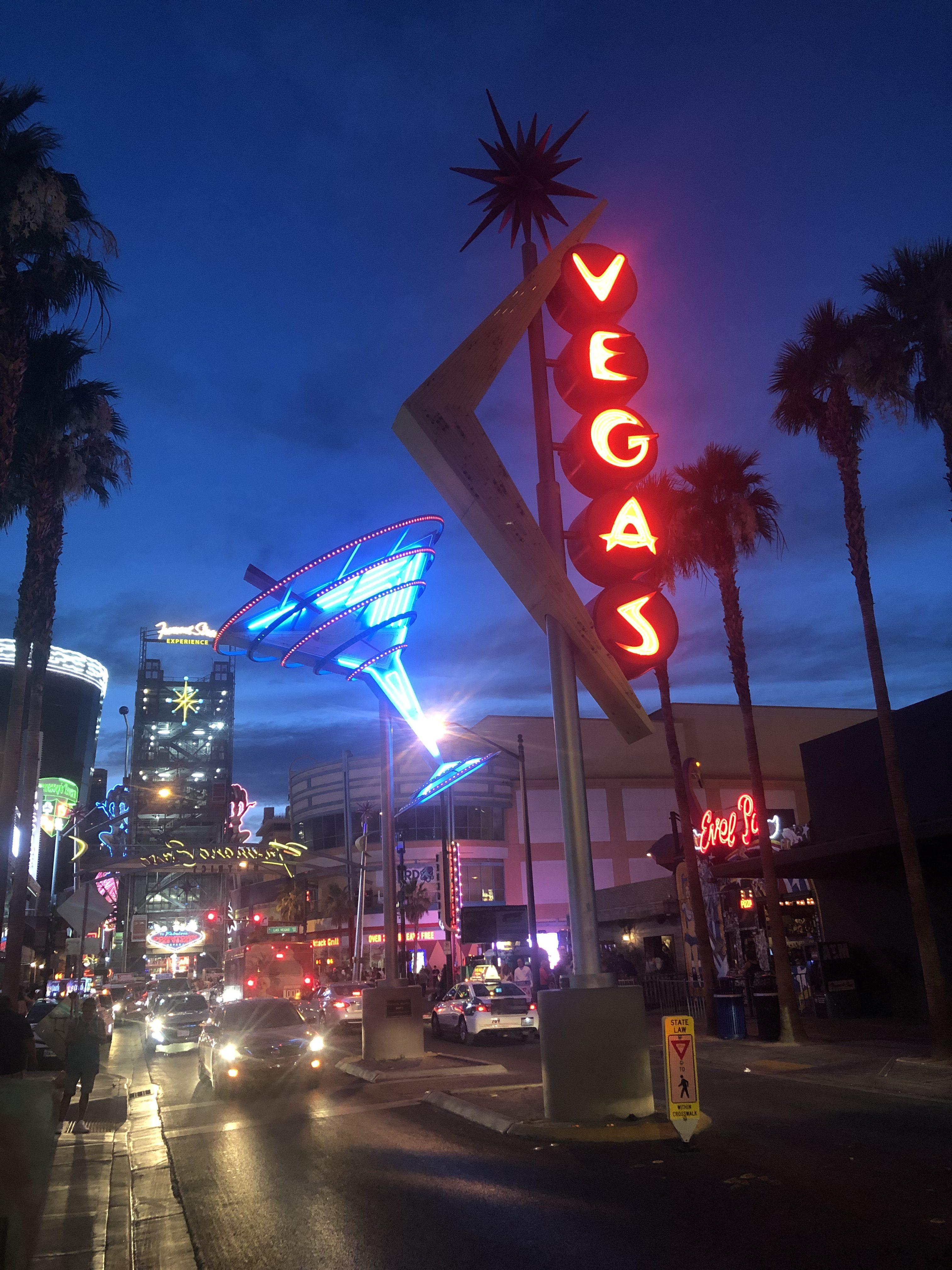 Las Vegas avond