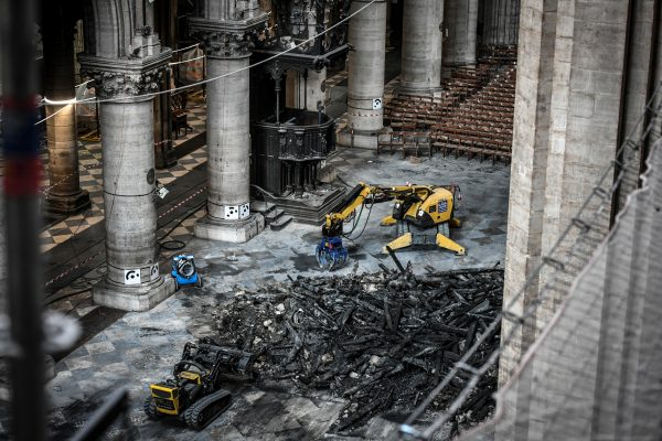 Notre-Dame Parijs herstel