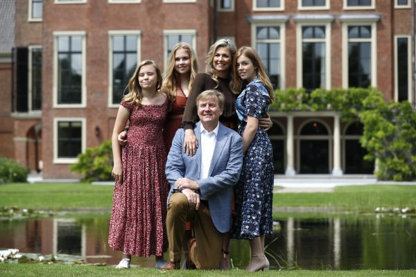 zomerfotosessie koninklijke familie