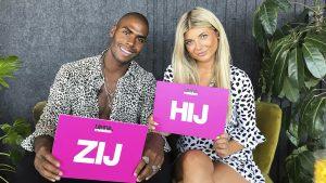 Thumbnail voor 'Love Island'-koppel Denzel en Aleksandra in 'HIJ/ZIJ': 'We zijn vrij bezitterig'