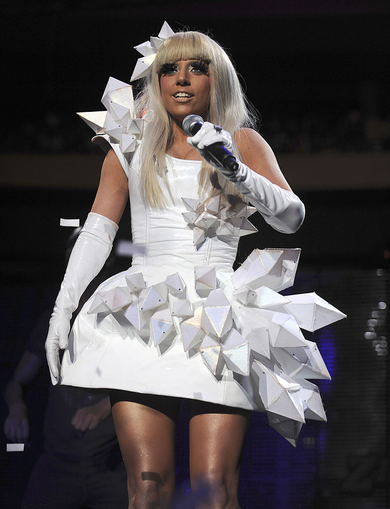 lady gaga in mugler