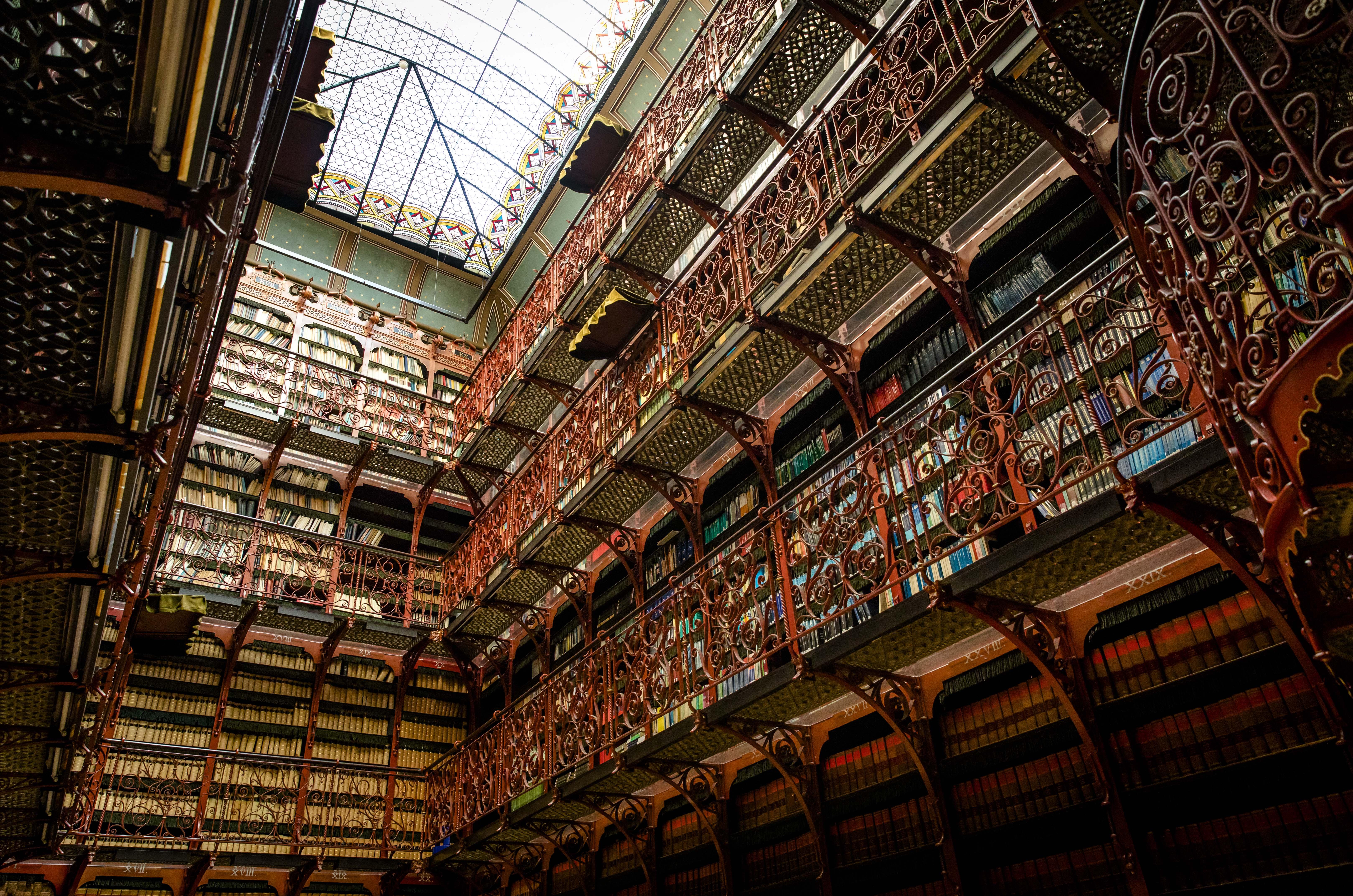 Lijst mooiste bibliotheken Handelingenkamer Tweede Kamer Den Haag