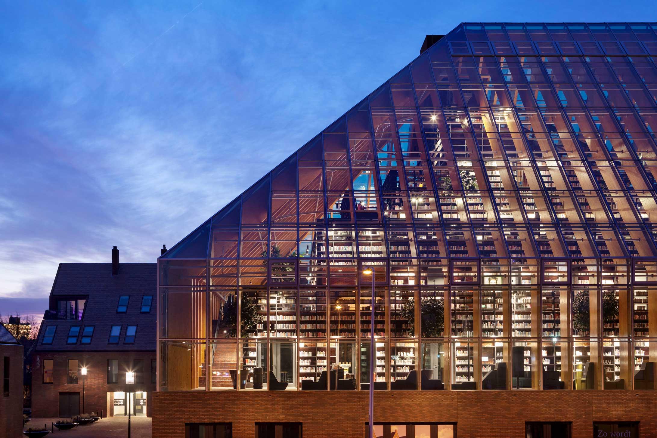 Lijstje-mooiste-bibliotheken-Nederland-De-Boekenberg-Spijkenisse-2